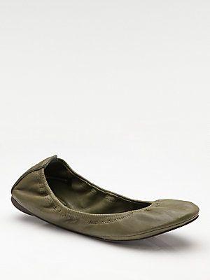155dd42c2a9 Tory Burch - Eddie Scrunch Ballet Flats