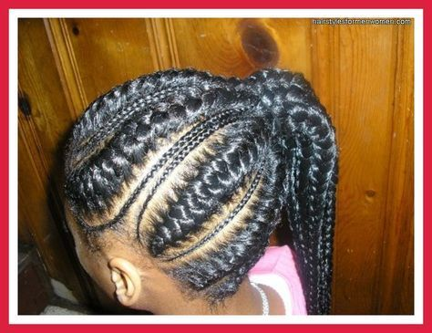 black hair styles little girls | Braid Hairstyles African American Little Girl