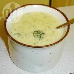 Photo de recette : Crème de brocoli délicieuse