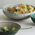 Pineapple jicama avocado salad