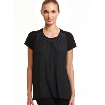 Mela Purdie Easy T We love the easy tee for an effortlessly cool aesthetic. This style features asplice panel in the front with the comfort of stretch knit through the back and sleeves. #melapurdie  #redworks