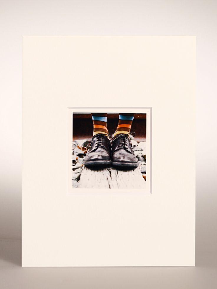 PASSEPARTOUT per Polaroid/Impossible 600 e SX-70 - foro centrato