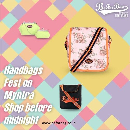 Hurry!!! The clock is ticking! @myntra #sale #bags #handbags #backpacks #sling #totes