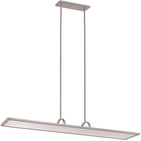 WAC Lighting PD-51148 Line LED Chandelier Pendant - A super thin, edge-lit LED panel that provides ambient light. Direct-indirect light distribution delivers ample light to work surfaces free of shadows while lighting the ceiling and upper of walls. Perfect for commercial offices or modern kitchen islands. Modern Island Lights & Pool table Lights - Brand Lighting Discount Lighting - Call Brand Lighting Sales 800-585-1285 to ask for your best price!
