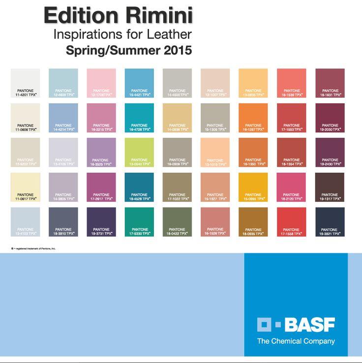 Env o la carta de colores y tendencias primavera verano - Colores de moda ...