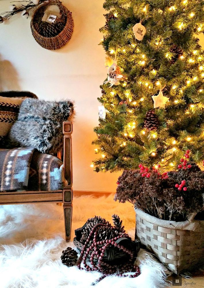 Rustic Cloth Ornaments: Woodland Style
