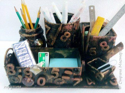 Поделка изделие День рождения День учителя Начало учебного года Моделирование конструирование Подарок учителю математики Материал бросовый фото 1