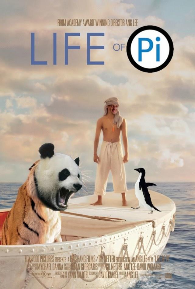 Life Of Pi Filme 3d Filmes Cartaz De Filme
