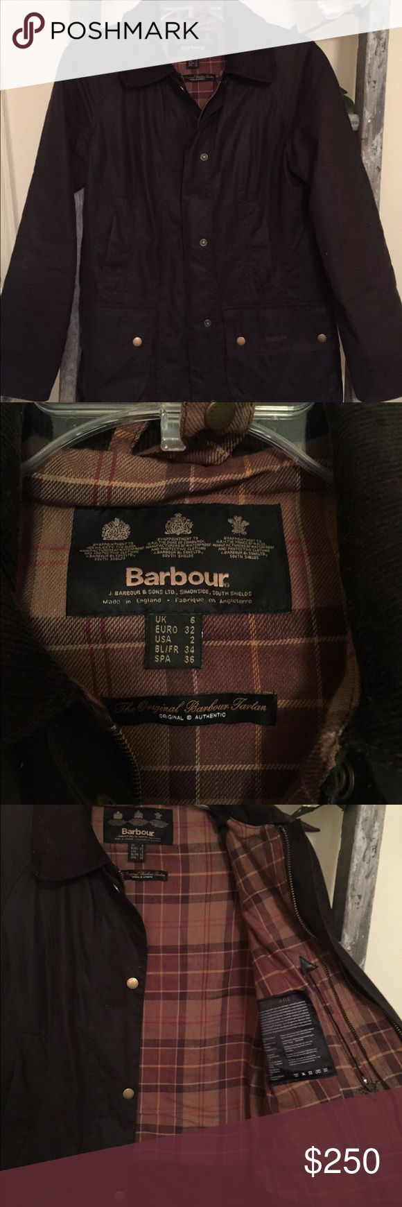 Barbour Classic Beadnell Wax Jacket Barbour Classic Beadnell Wax Jacket in dark brown...barely worn! Barbour Jackets & Coats