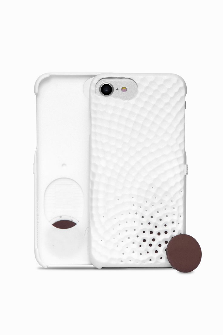 Personalize your iPhone with your favorite fragrance: Freshfiber Stonework Perfume Case | From Freshfiber.com