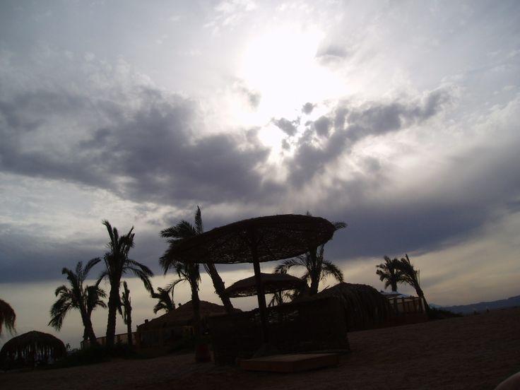 El Gouna Ägypten - Vor dem Sandsturm