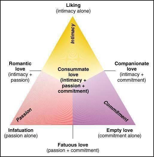 Sternberg's Triangular Theory of Love