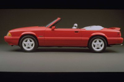 Mustang Through the Years: 1992 1/2 Ford Mustang