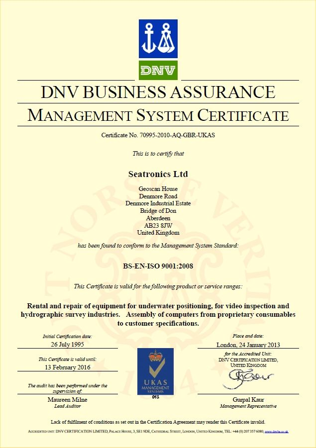 "Rent IT has ISO 9001 certification for building computer systems. As well as our rental units Rent IT builds and sells computers to Offshore operators around the world for use in more ""demanding"" environments. #RentIT #DNV"
