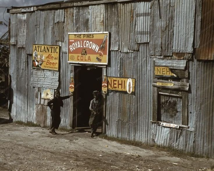 Pines Juke Joint Bar RC Cola Nehi Signs 8x10 Reprint Of Old Photo