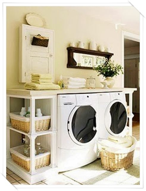 17 migliori idee su lavanderia in bagno su pinterest - Allestimento bagno ...