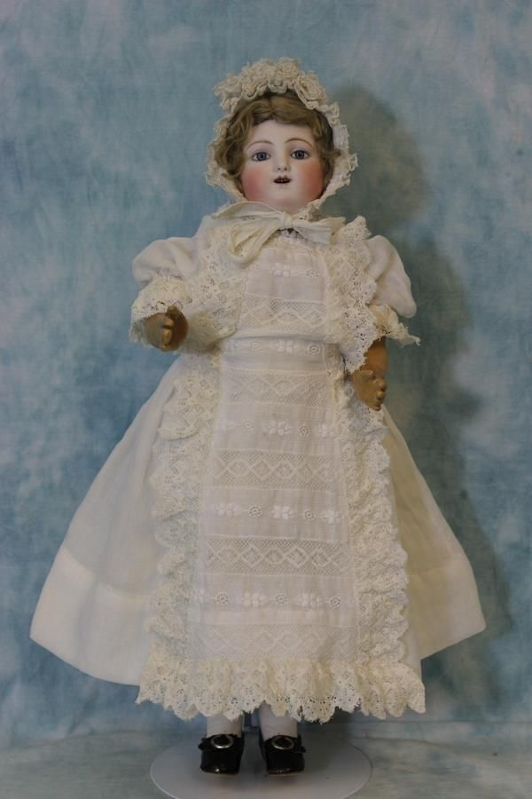 "Antique 18"" Kicking,Screaming,Jules Steiner Gigoteur Doll Ca.1880 Says from turnofthecenturyantiques on Ruby Lane"