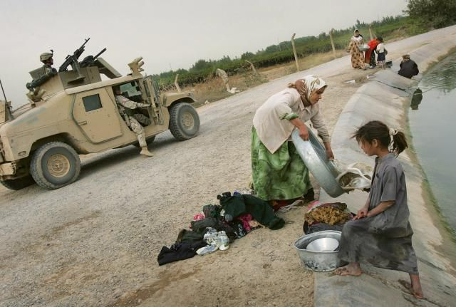 Take A Look At The Laundry Routines Around The World: Dujail, Iraq