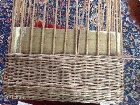 Плетение Немного работ и МК загибки и плетение переходов Бумага газетная фото 23
