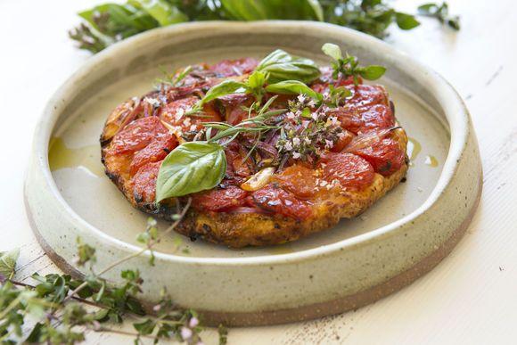 Heirloom Tomato Tarte Tartin - Maggie Beer
