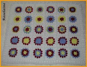 Couverture au crochet #4