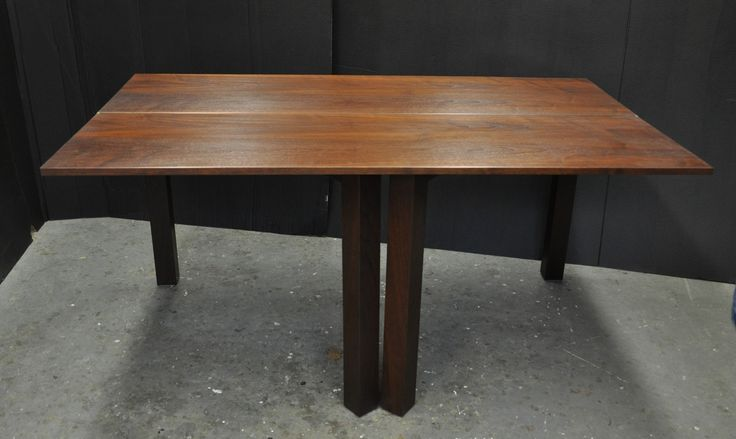 Console Table With Folding Sides