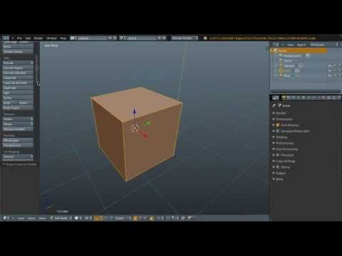 [Blender Feature] Proportional Editing with X Mirror