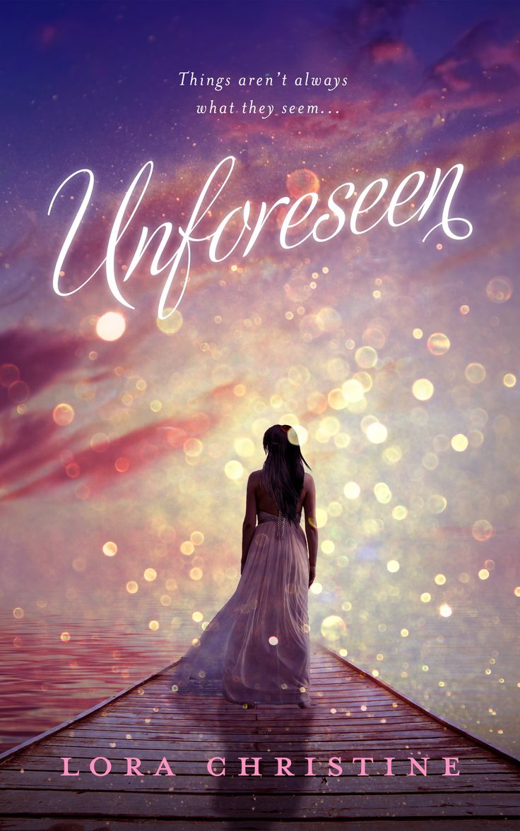 Book Cover Design for Unforeseen.