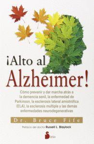 ALTO AL ALZHEIMER! Dr, Bruce Fife