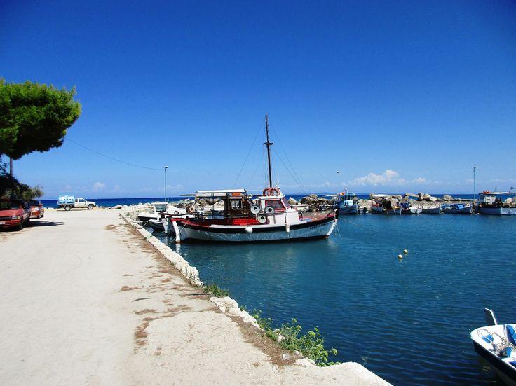 Rybářské loďky v Tsilivi - ostrov Zakynthos - Řecko