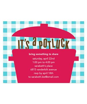 Try one of these invitation websites and spread the word about your next get-together in style.