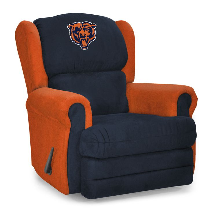 Chicago Bears NFL Coach Rocker Recliner