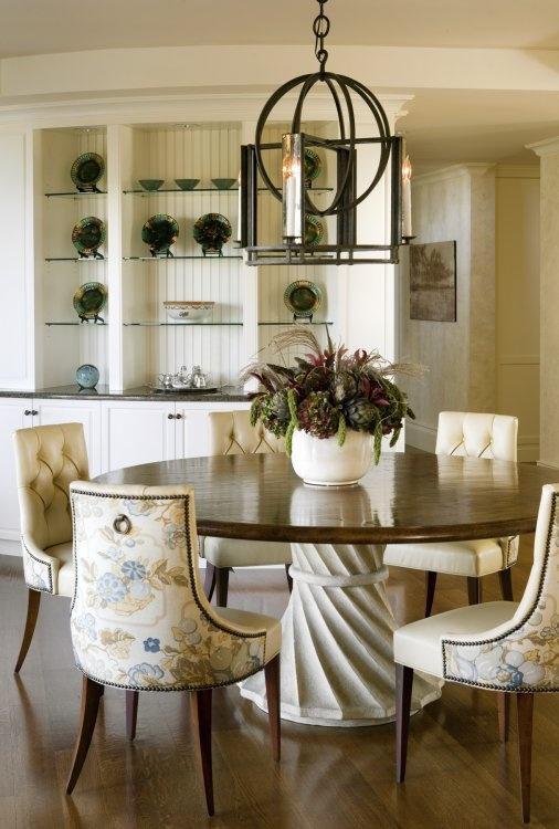 Fabulous Lantern, cool dining table pedestal.