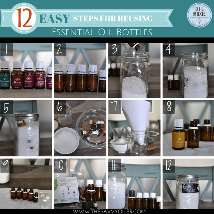 Young Living Essential Oils: 12 EASY STEPS FOR REUSING ESSENTIAL OIL BOTTLES WWW.THESAVVYOILER.COM