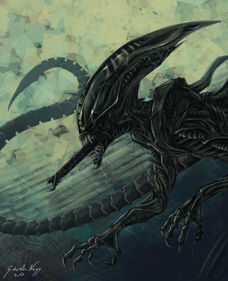 xenomorph vs necromorph - photo #11