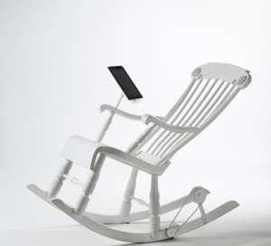 iRock, le rocking-chair écologique et numérique de demain
