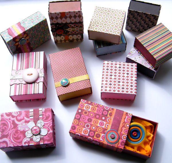 10 ideas para decorar con cajas recicladas
