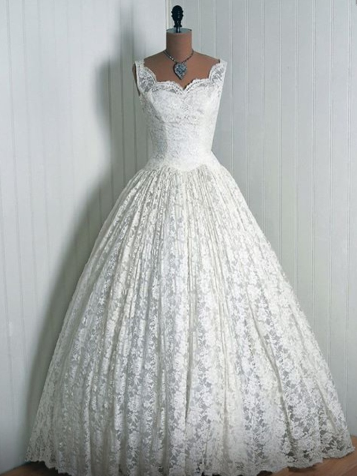 1000  images about 1950&39s wedding dresses on Pinterest  Wedding ...