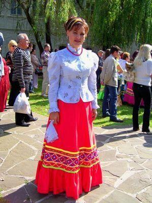 Национальные женские костюмы казаков картинки