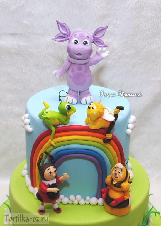 Торт с Лунтиком и компанией - Babyblog.ru