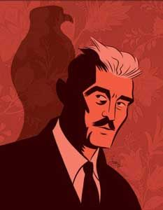 Dashiell Hammett (1894-1961 Author, creator of Sam Spade, Nick and Nora Charles and the Continental Op.