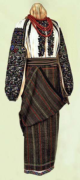 Woman's Sorochka from Bukovyna