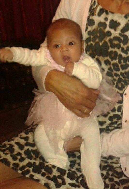 Hannah my first grandchild