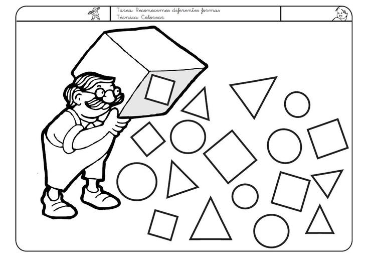 Caja de formas geométricas