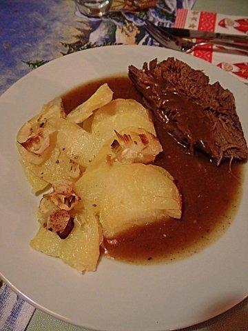 Das perfekte Hauptspeise: Zimt-Sauerbraten mit Pastinaken-Kartoffel-Cashew-Gratin-Rezept mit einfacher Schritt-für-Schritt-Anleitung: Achtung: Bitte…