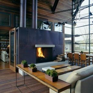 Lakes House, Austin House, Interiors, Fireplaces, Living Room, Lakes Austin, Fire Pit Design, Austin Tx, Lakes Flato