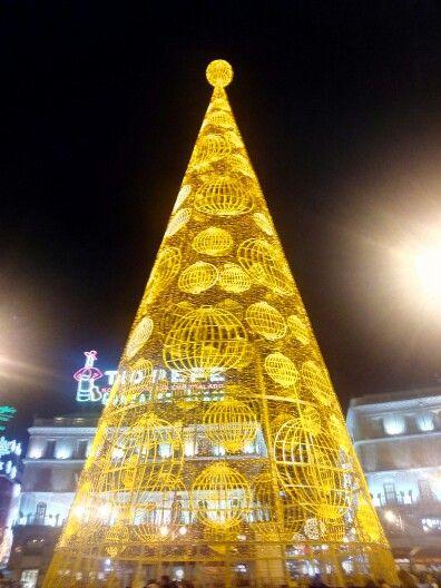 Puerta del Sol. Diciembre 2014