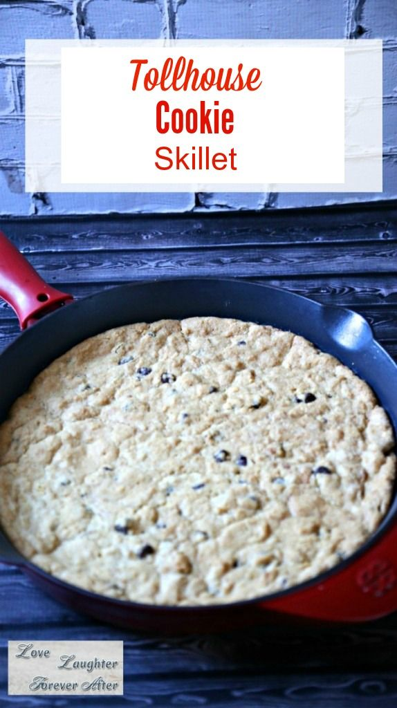 Have you tried cooking cookie in a skillet? Try this Toll House Pan Cookie Recipe