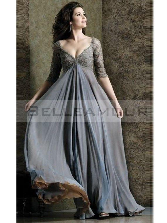 robe mariée taille empire manches longues - Recherche Google
