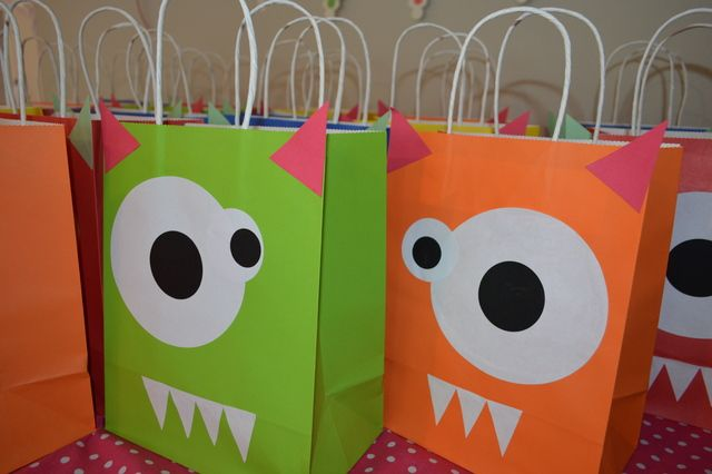 """Photo 1 of 40: Girly Monster Bash / Birthday """"My Little Monster turns 2!"""" 